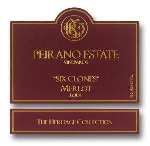 Peirano Estate Vineyards Six Clones Merlot, findingourwaynow.com