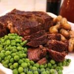 Crockpot Pot Roast: #Recipe