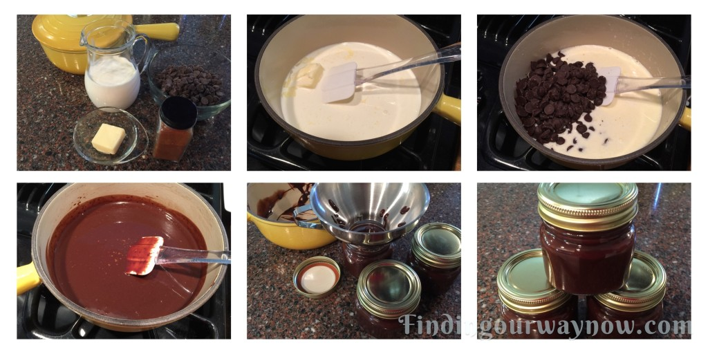 Three Easy Dessert Sauces - Chocolate Sauce, findingourwaynow.com