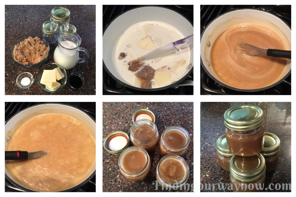 Three Easy Dessert Sauces - Caramel Sauce, findingourwaynow.com