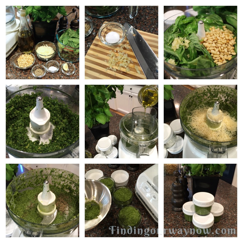 Basic Homemade Pesto, findingourwaynow.com