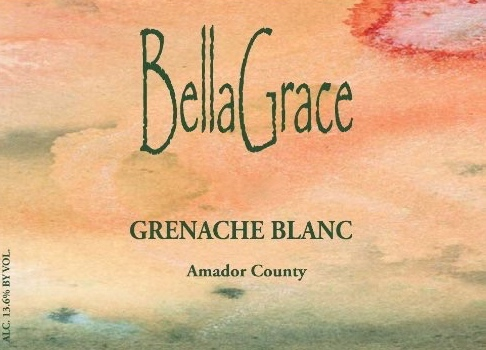 Bella Grace Vineyards Grenache Blanc, findingourwaynow.com