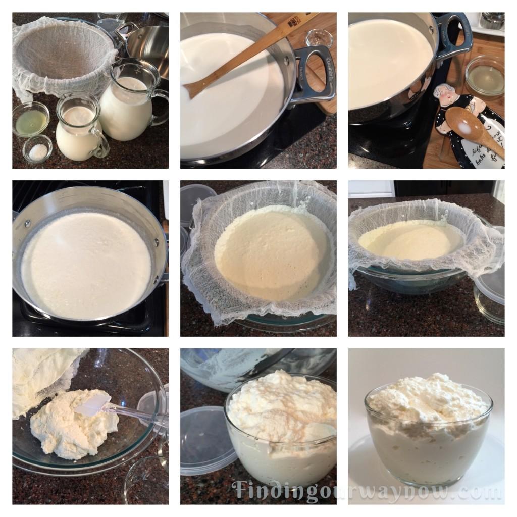 Homemade Ricotta Cheese, findingourwaynow.com