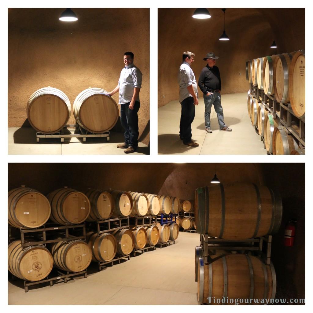 Bella Grace Vineyards Wine Cave, findingourwaynow.com