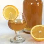 Homemade Orange Liqueur, findingourwaynow.com