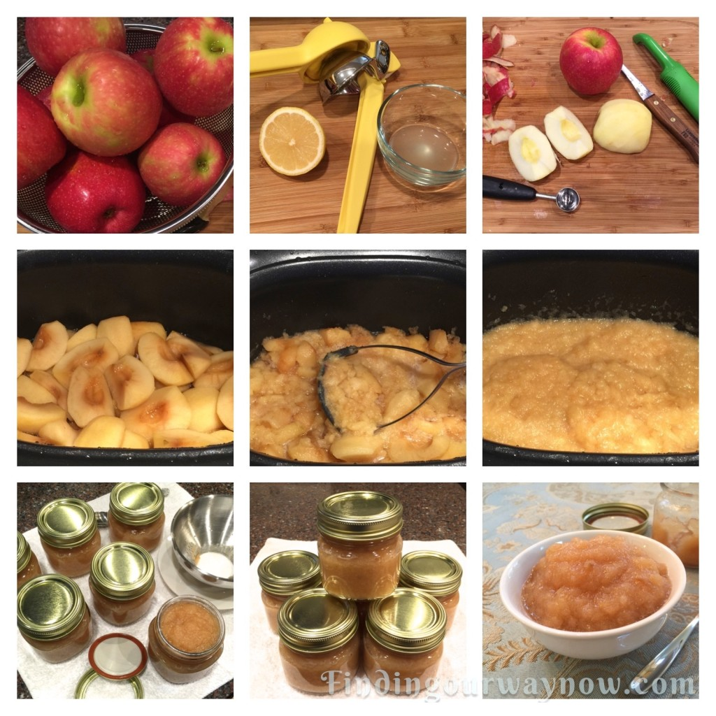 Slow Cooker Applesauce, findingourwaynow.com