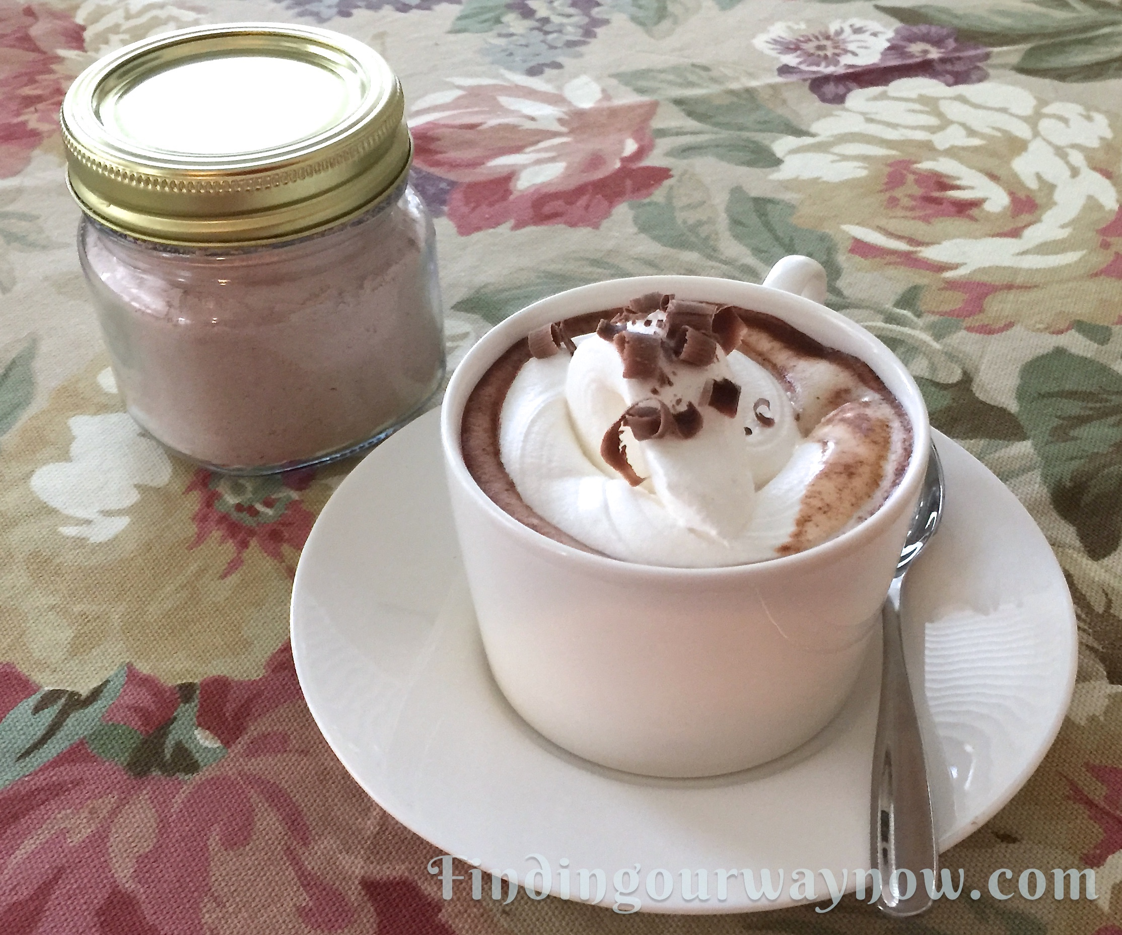 Homemade Spiced Cafe Mocha Mix, findingourwaynow.com