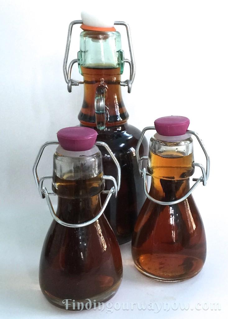 Homemade Vanilla Extract, findingourwaynow.com