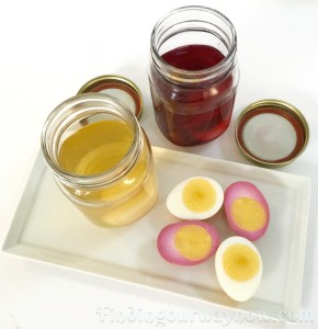 Pickled Eggs, findingourwaynow.com