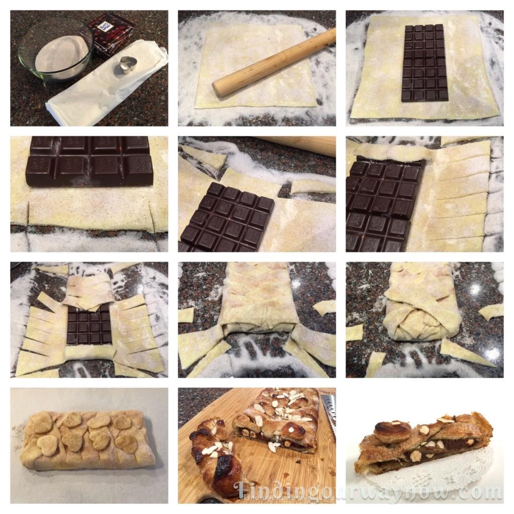 Simple Chocolate Strudel, findingourwaynow.com