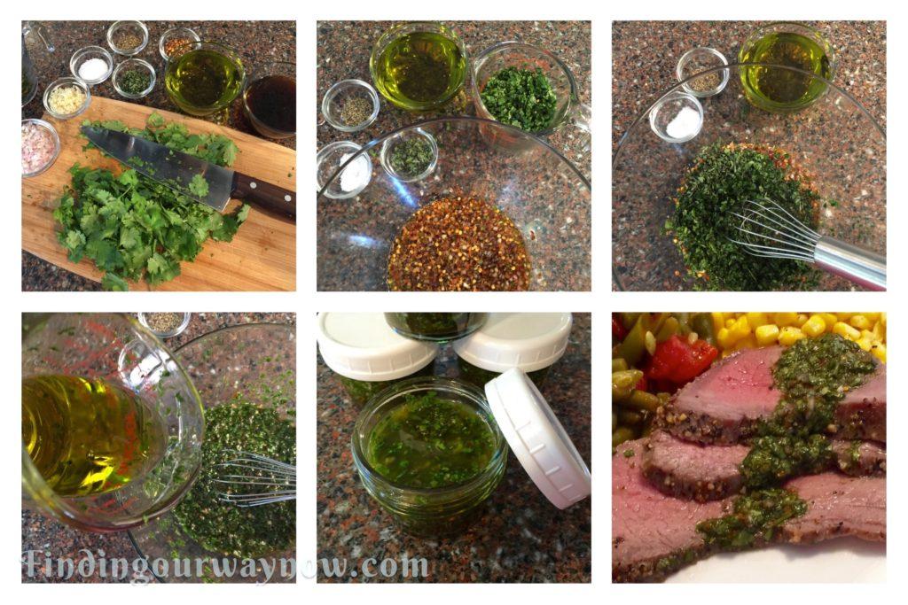 Homemade Chimichurri, findingourwaynow.com