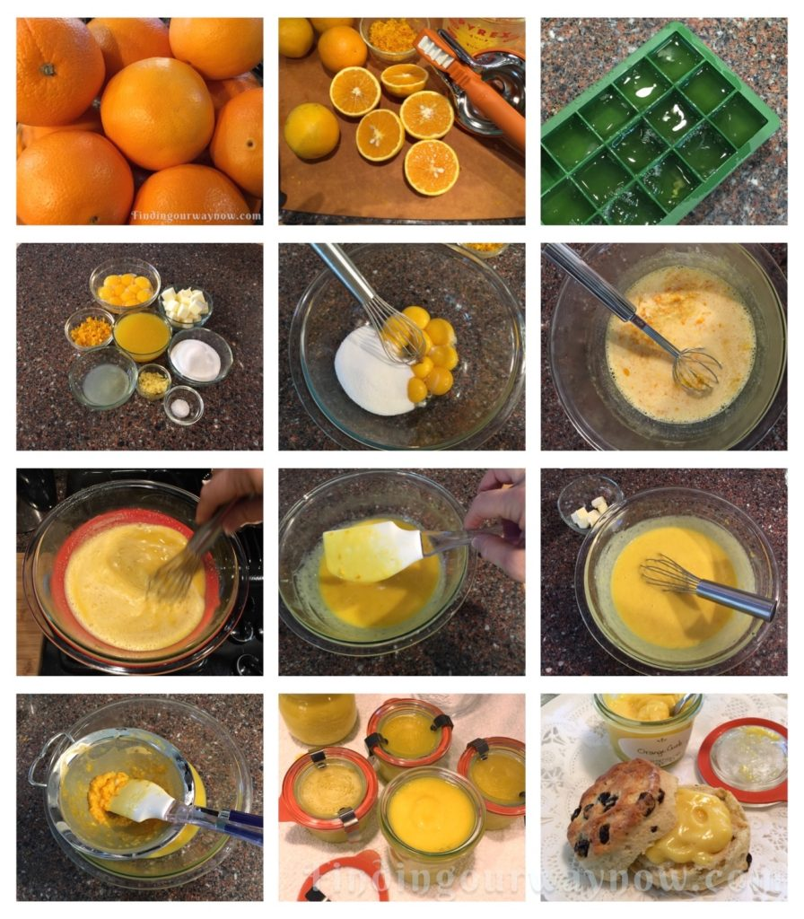 Valencia Orange Curd, findingourwaynow.com