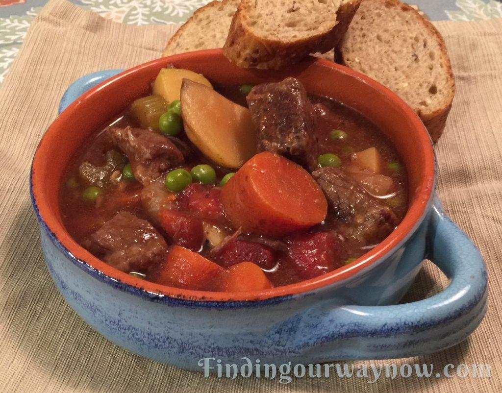 Slow Cooker Beef Stew, findingourwaynow.com
