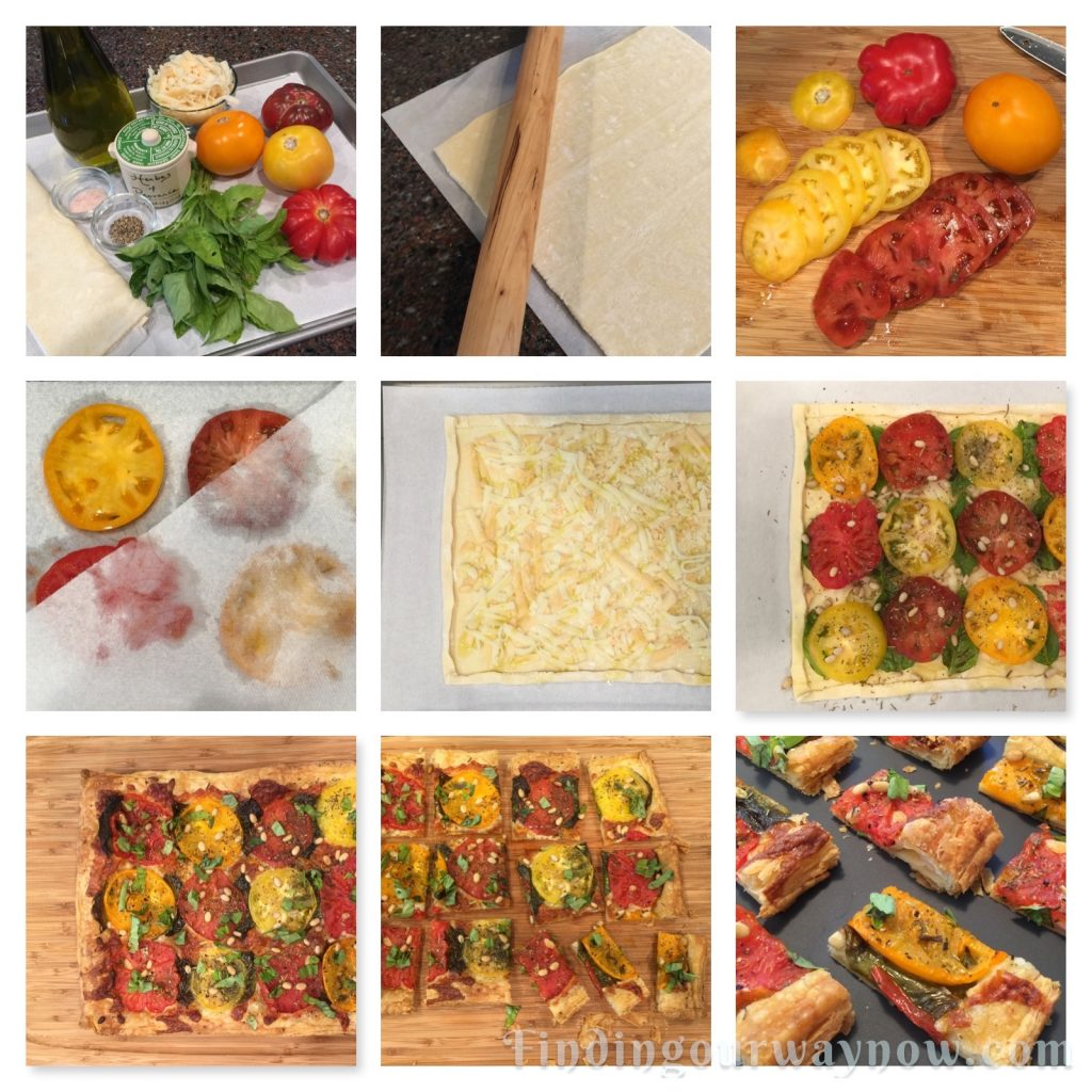 Heirloom Tomato Tart, findingourwaynow.com