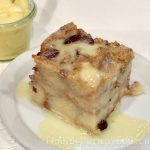 Basic Bread Pudding / Hard Sauce, findingourwaynow.com