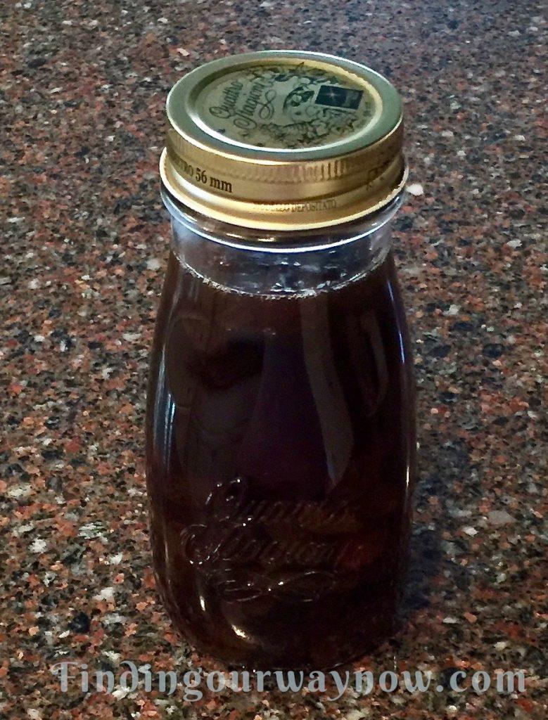 Homemade Syrups, Rum Raisin, findingourwaynow.com