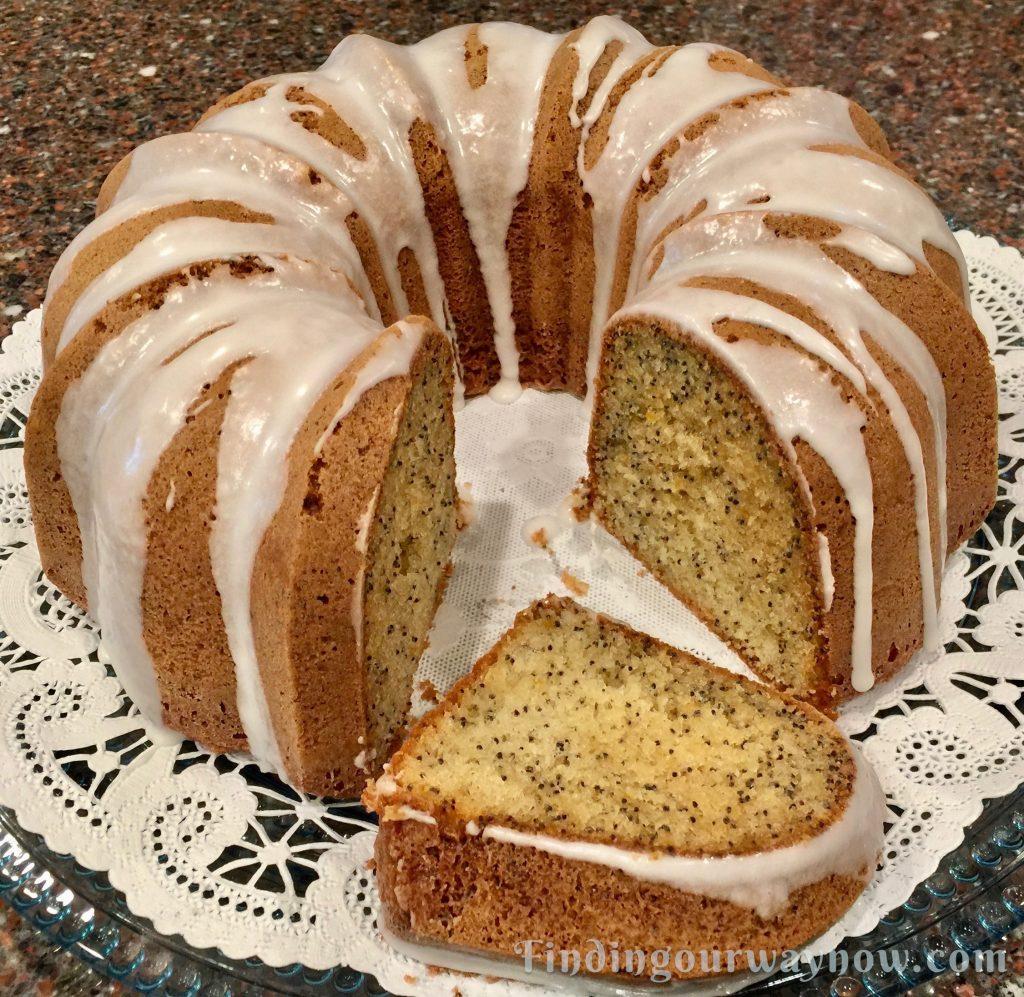 Lemon Poppy Seed Cake, findingourwaynow.com