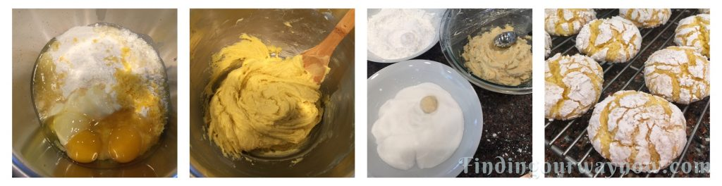 Cake Mix Lemon Crinkle Cookies, findingourwaynow.com